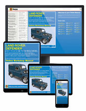 Land Rover Defender Diesel (Feb 2007-2016) 56 to 16 Haynes Online Manual
