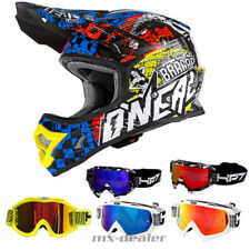 O'NEAL 3Series SAUVAGE multi CASQUE CROSS MX MOTOCROSS Traverser HP7 Lunettes dh