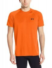 Under Armour Tech Shortsleeve Camiseta de hombre naranja 1228539