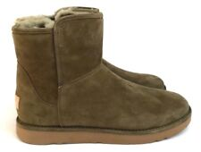 Ugg Abree Mini Slim Soft Suede Lined with Plush and Velvety Mouton Sheepskin