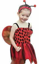 Toddler Insect Ladybird Costume Girls Fancy Party Dress World Book Day Outfit