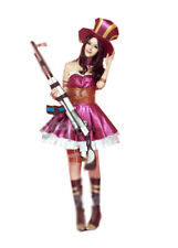 Vivian League of Legends LOL Caitlyn Purple Cosplay Costume