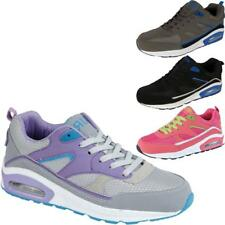 Womens Fitness Running Sports Gym Ladies Shock Absorbing Air Trainers Shoes UK