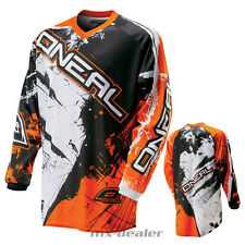 O'NEAL Element SHOCKER naranja jersey camiseta conductor MX Motocross MTB DH FR