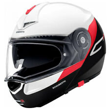Schuberth C3 Pro Gravity Rojo Motocicleta Casco Panel Frontal