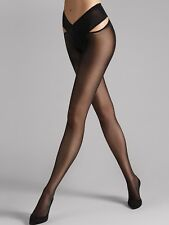 Wolford individual12 stay-hip, S+M+L , Black, NUOVO + conf. orig.