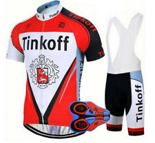 2018 NEW COLOR saxo bank TINKOFF Completo Ciclismo con NEW GEL 9D