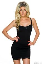 Damen sexy Stretchkleid Sommerkleid Kleid Minikleid Clubwear Cocktailkleid Party