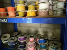 12v cable wire - 1mm² - 5m lengths - car auto marine 77 COLOURS AVAILABLE