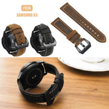 Leather Bracelet Strap Watch Band For Samsung Gear S3 Frontier/Classic SM-R760