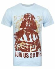 Star Wars Darth Vader Blue Men's T-Shirt Sizes Small to X-Large