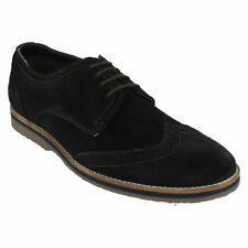 MENS HUSH PUPPIES SEBASTIAN WINGTIP SMART LACE UP LEATHER SUEDE BROGUES SHOES