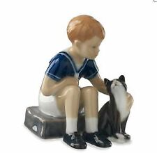Royal Copenhagen figurine Jens con gatto mini 5021086