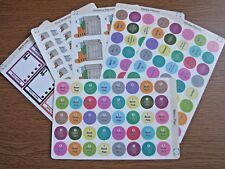 Recipe/Food Stickers - Planner/Diary/Scrapbooking Stickers - Glossy Paper