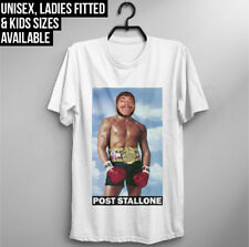 Post Malone T Shirt Stallone Rocky Boxer Funny Stoney rap lil peep dope swag top