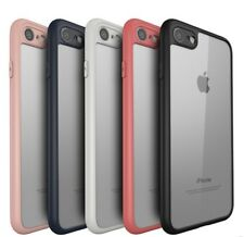 FOR (Apple iphone 8)  SOFT SILICON BUMPER TRANSPARENT TPU BACK CASE COVER