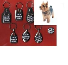 Norwich Terrier Dog Keyring and Badge