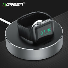 Ugreen Magnet Wireless Charging Dock USB Cable Winder Holder for Apple Watch 2 3
