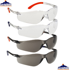 Portwest PW38 PLANA VISTA Gafas de Seguridad / Proteccion Ojo 1,6 OR 12 Pares