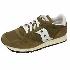 SAUCONY TRAINERS JAZZ ORIGINAL VINTAGE OLIVE WHITE SNEAKERS