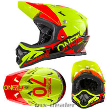 ONEAL Backflip Burnout NERO-GIALLO dh bmx mountainbike Casco MTB FREERIDE