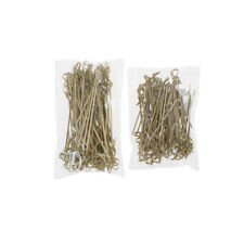 100X Bamboo Knot Skewers Cocktail Sticks Ideal Canape Buffet Party Tableware FO