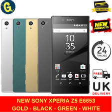 Brand New Sony Xperia Z5 E6653 Gold 32GB Sim Free Unlocked Android Smart Phone