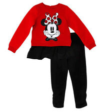 NEW Disney Toddler Girls' Minnie Mouse Top & Bottom Set  Size 5T
