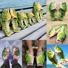 Kids Boys Girls Funny Fish Shaped Slippers Flats Sumer Beach Flip Flops Shoes