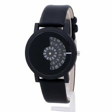 Personality Men Women Business Wristwatch PU Leather Gift Simple Creative