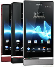 "BRAND NEW Sony Xperia P (Lt22i) 16GB 4"" 8MP 1GB RAM 3G Unlocked RED/BLACK/SILVER"