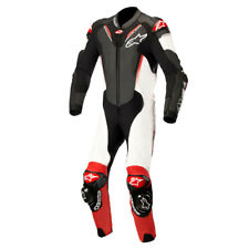 Alpinestars Atem V3 Black / White / Red Motorrad One Piece Leather Suit