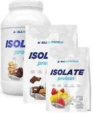 100% WHEY PROTEIN ISOLATE ALLNUTRITION WPI 85%, 66 servings FREE BIG Shaker