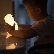 LED Penguin Night Light Lamp Silicone Children Kids Baby Gifts Decoration