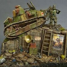 1/35 WWI Armour and figure model kits by MENG, Takom, Tamiya. etc.