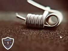 2X or 4X 316L STAINLESS STEEL *SUPERNOVA* ALIEN COILS BUY 1 GET 2nd HALF PRICE