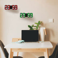 Nuevo Reloj de pared moderno Reloj de pared digital LED 3D Reloj de pared Y2D2