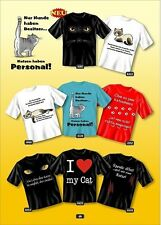 Fun Collection - T-Shirt camiseta con Gato Motivo