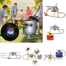 Outdoor Picnic Gas Jet Stove Burner Cooking Hiking Camping Gear Cooker Portable