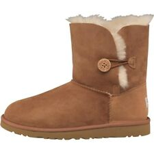 UGG Womens Bailey Button Boots Chestnut