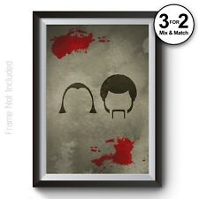 Pulp Fiction Poster - Classic Movie Wall Art Prints - Tarantino - Giclee Quality