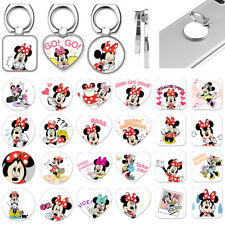 Disney Cartoon Minnie Mouse Finger Ring Grip Stand Holder For Cell Phone Tablet
