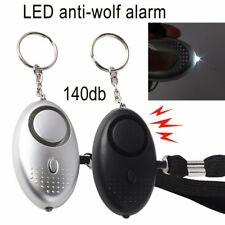 Personal Panic Rape Attack Safety Security Keyring Alarm 140db Police Approved