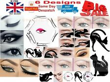 6in1 Eyeliner Stencil Makeup Guide Quick Cat Eye Liner Cat Eye Shaper Stencil