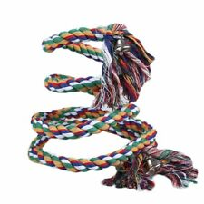 Parrot Rope Pet Bird Coil Swing Perches Cockatiel Conure Budgie Cage Toy