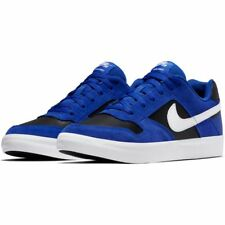 Nike SB Delta Vulc Skateboarding Shoes - Hyper Royal Blue / Black White