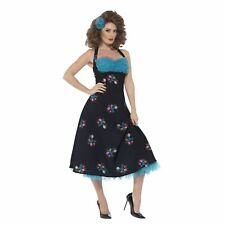 Adult Ladies Official Grease Cha Cha DiGregorio 50s Jive Fancy Dress Costume