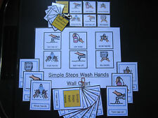 Simple Steps Wash Hands -Autism /PECS /Dementia /Early Yrs /Visual Aid /Learning