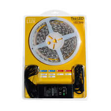 KIT tira LED flexible SMD5050, 5m (60 Led/m) - IP65. calido, frio