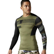 Men's Reebok One Series ActivChill Long Sleeve Compression Training Wicking Tee